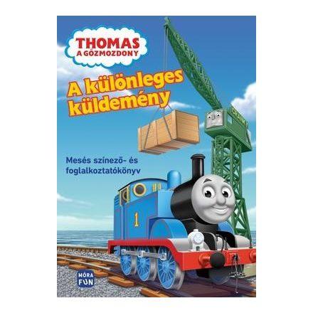 Thomas a gõzmozdony ? A különleges küldemény - Mesés színezõ- és foglalkoztatókönyv
